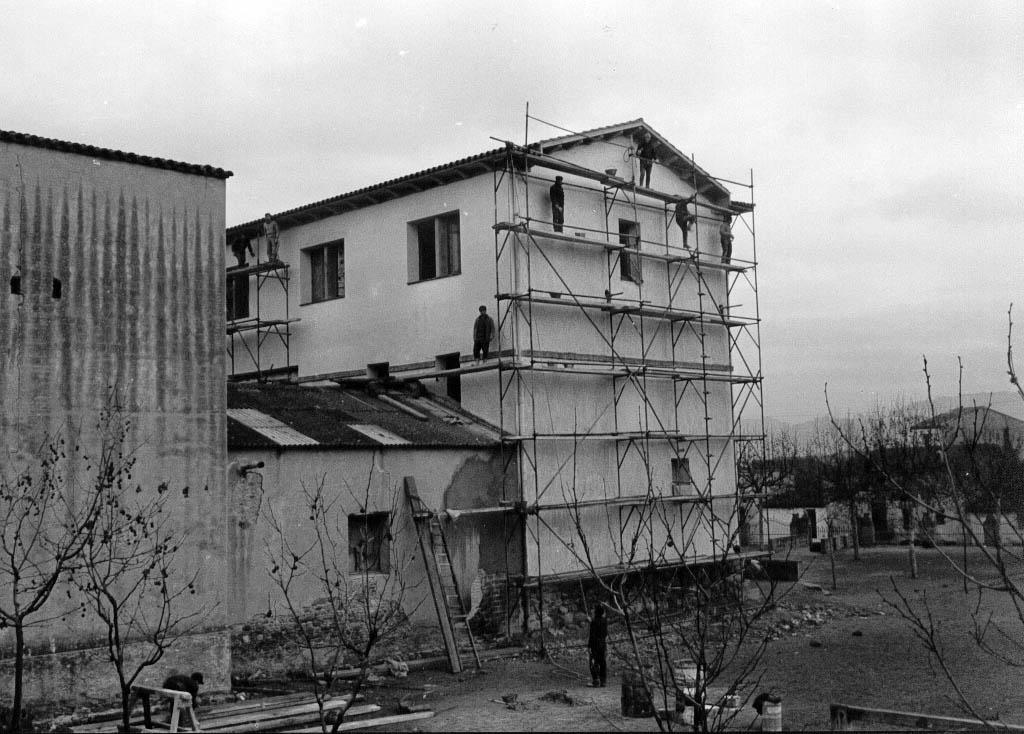 Primera ampliació de l'edifici