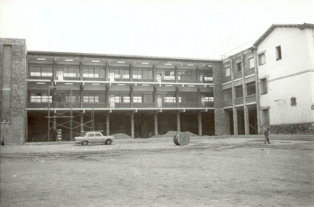 Segona ampliació de l'edifici